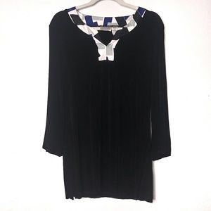 Chico's Travelers Size 2 Blouse